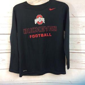 Boys Nike Ohio State Dri Fit Shirt